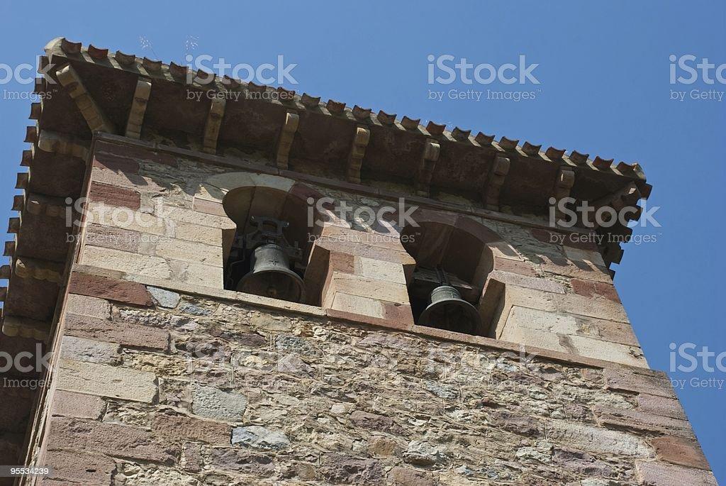 Romanesque architecture stock photo