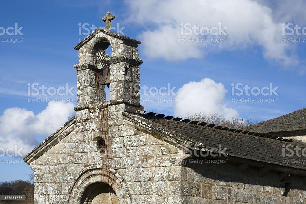 Romanesque church royalty-free stock photo