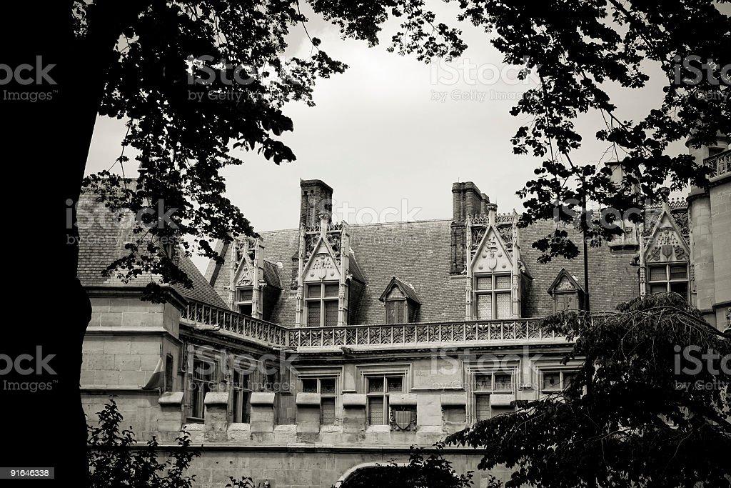 Romanesque royalty-free stock photo