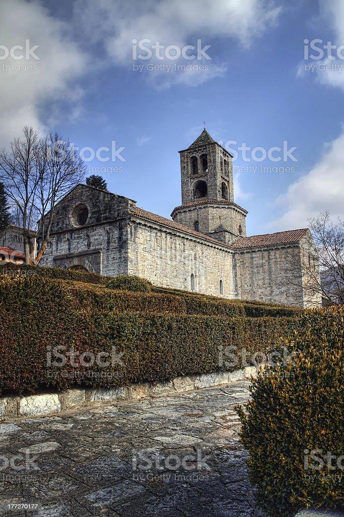 Romanesque style royalty-free stock photo