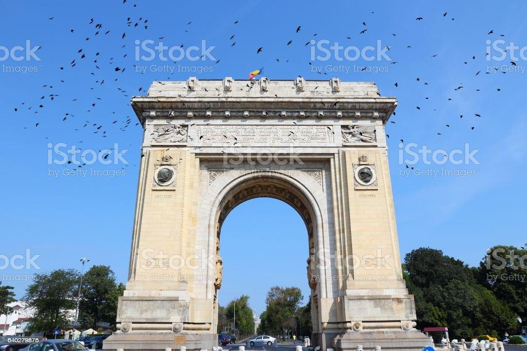 Romania - Bucharest stock photo