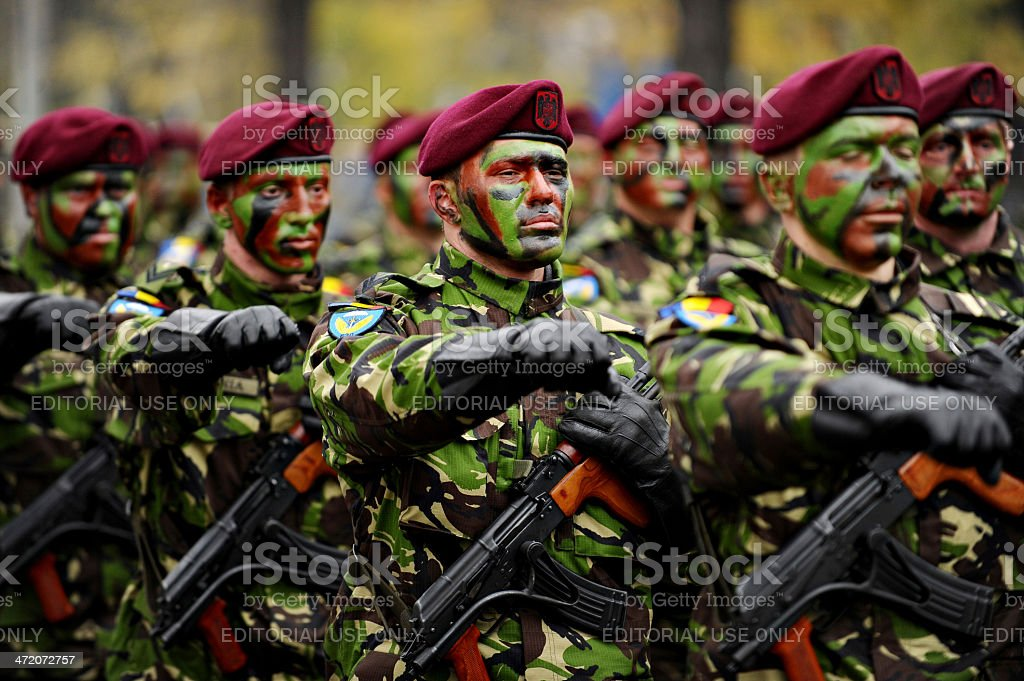 Romania Military Parade stock photo