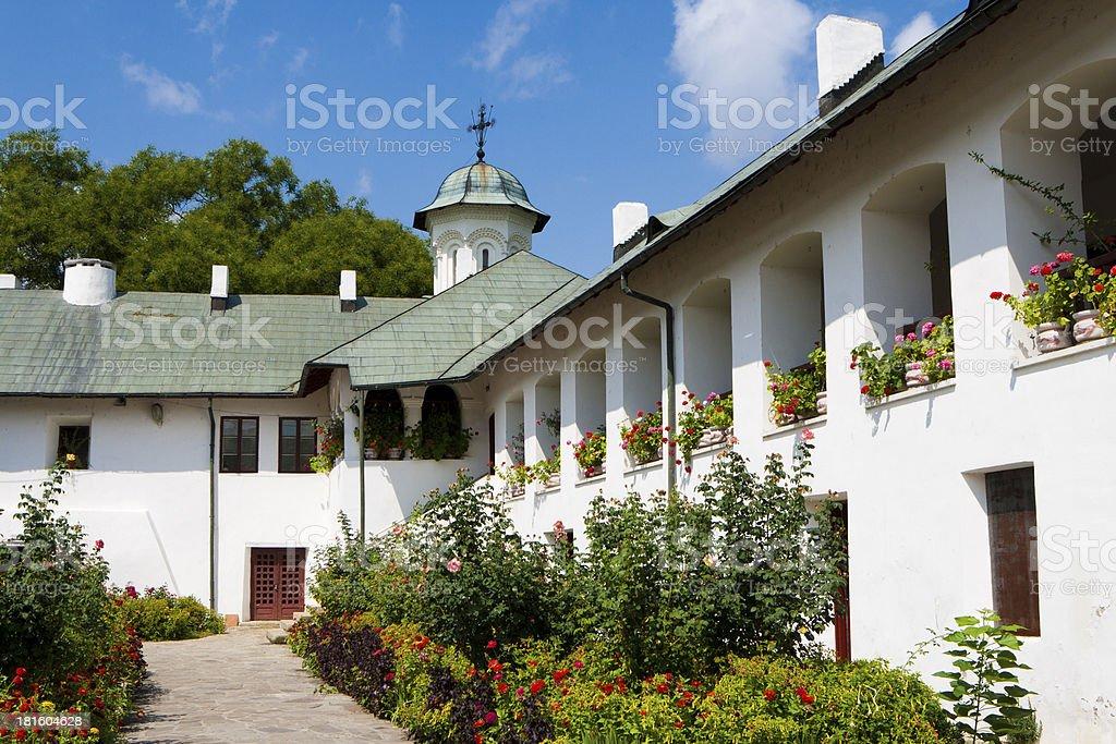 Romania, Monastery Cozia stock photo