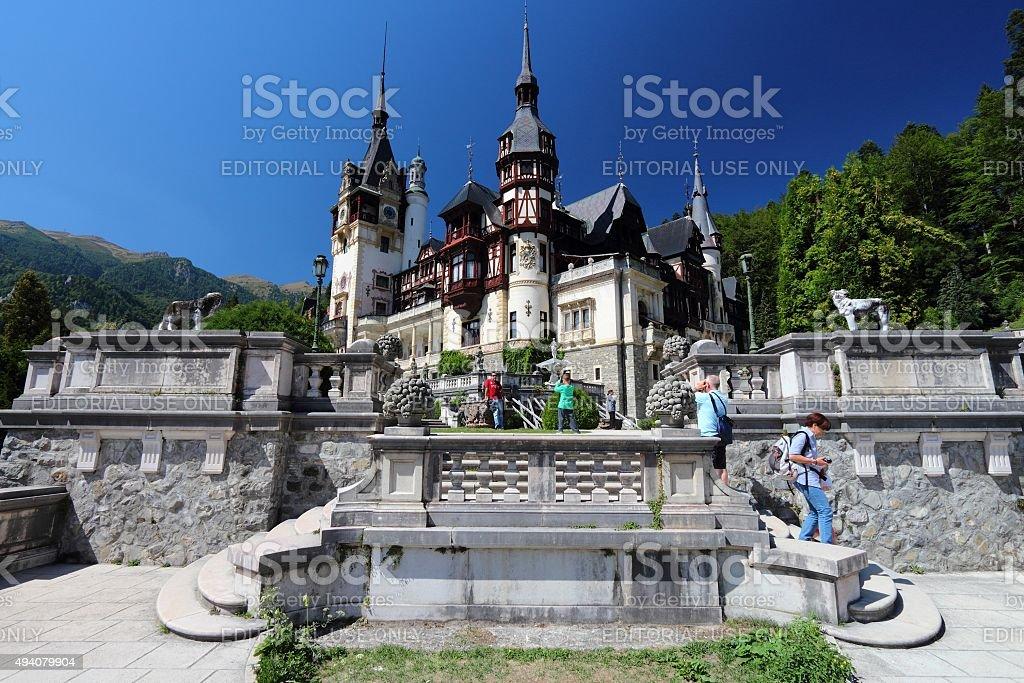 Romania tourism stock photo