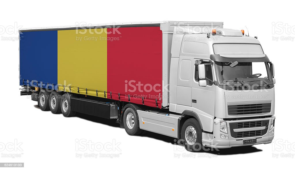 Romania Transport stock photo