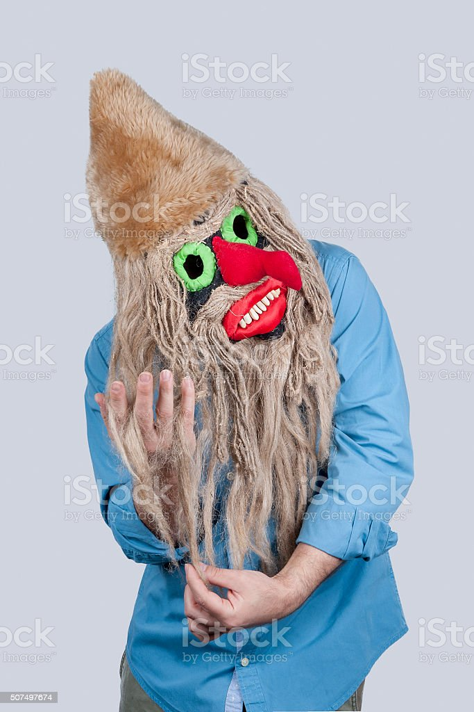 Romanian Devil Combs Hair stock photo