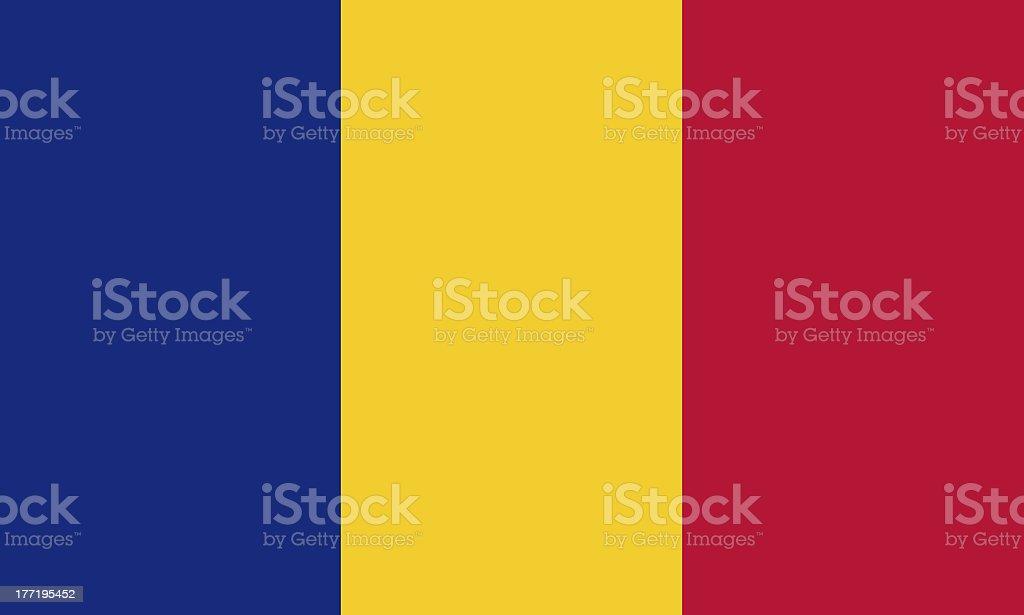 romanian flag royalty-free stock photo