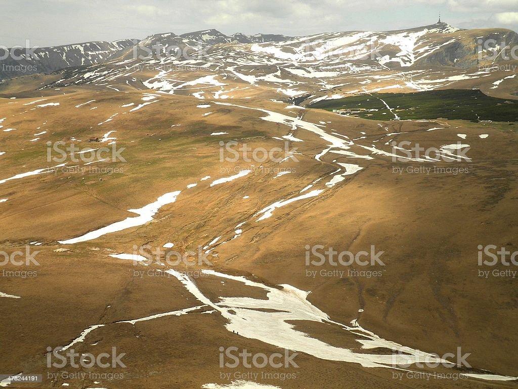 Romanian Huge Plateau royalty-free stock photo