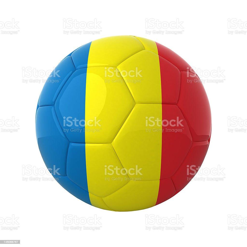 Romanian soccer. royalty-free stock photo