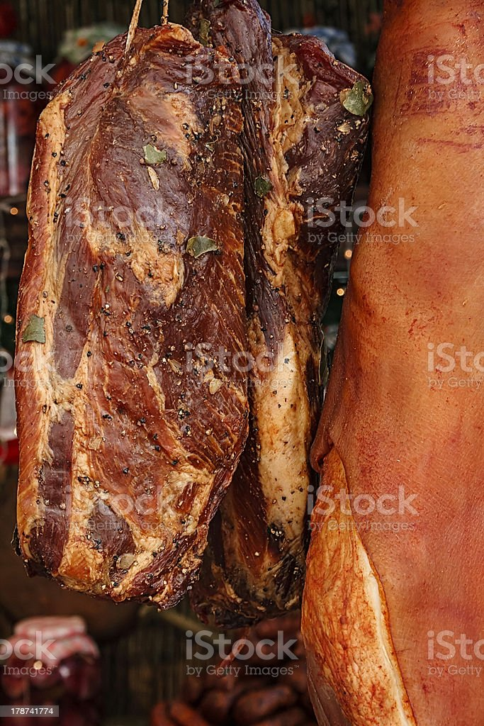 Romanian traditional food royalty-free stock photo
