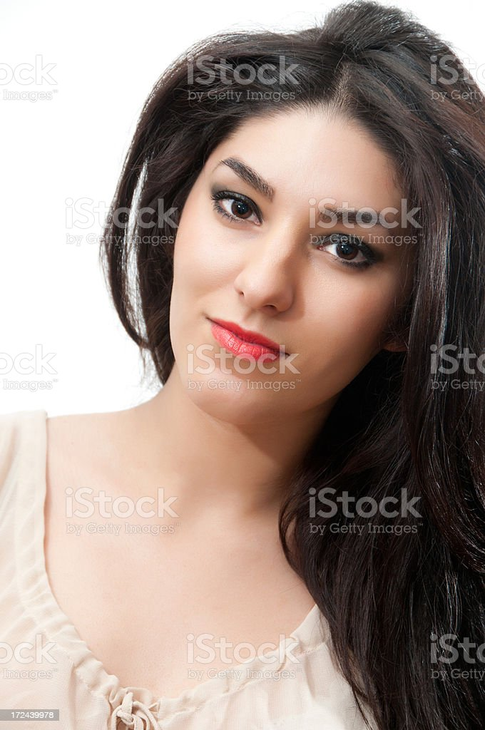 Romanian Woman Portrait royalty-free stock photo