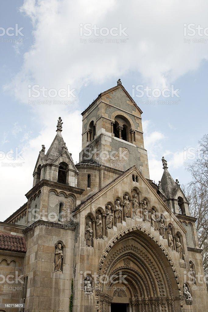 Romanic church in Budapest royalty-free stock photo