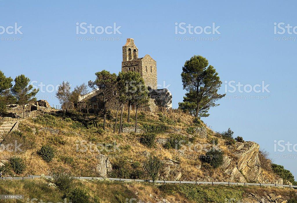 Romanic church royalty-free stock photo