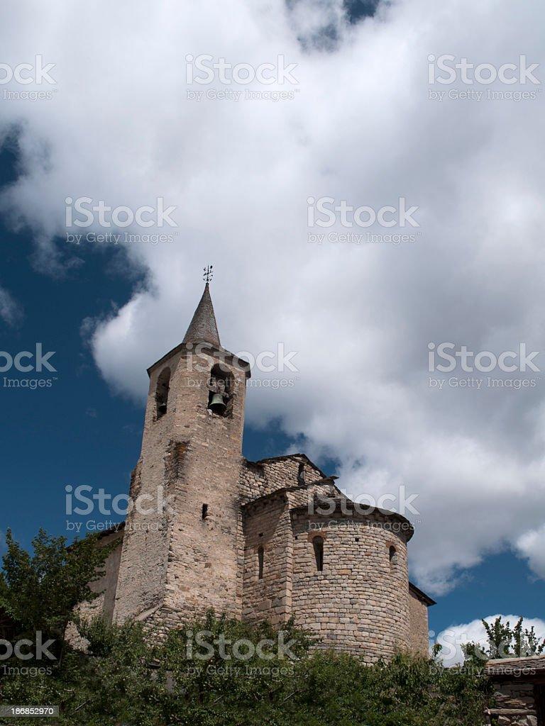 Romanic Church. stock photo