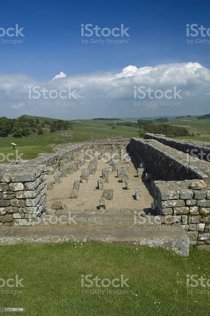 Romanic Granary royalty-free stock photo