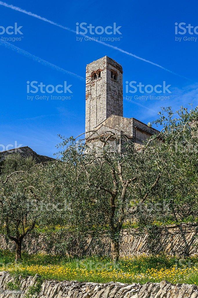Romanic Parish Church in Valpolicella royalty-free stock photo