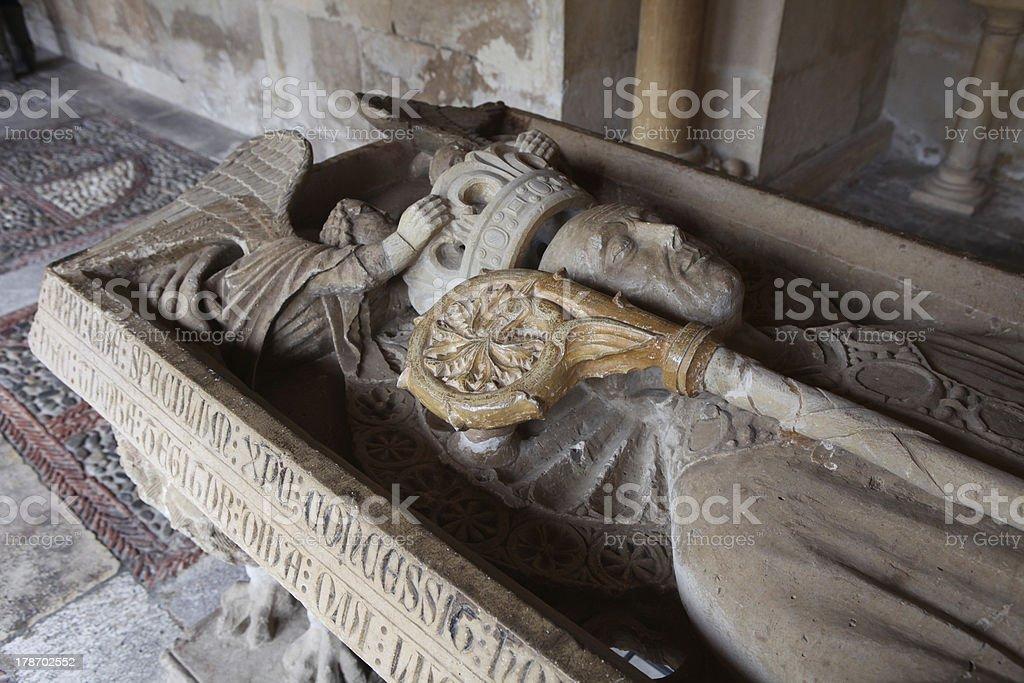 Romanic Tomb stock photo