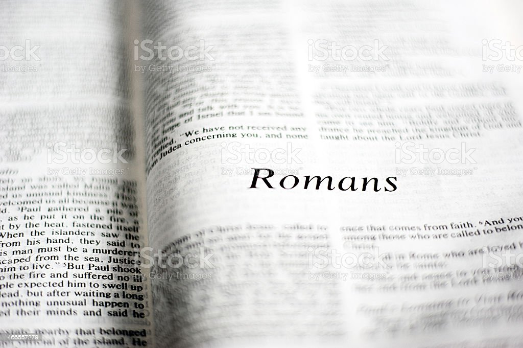 Romans stock photo