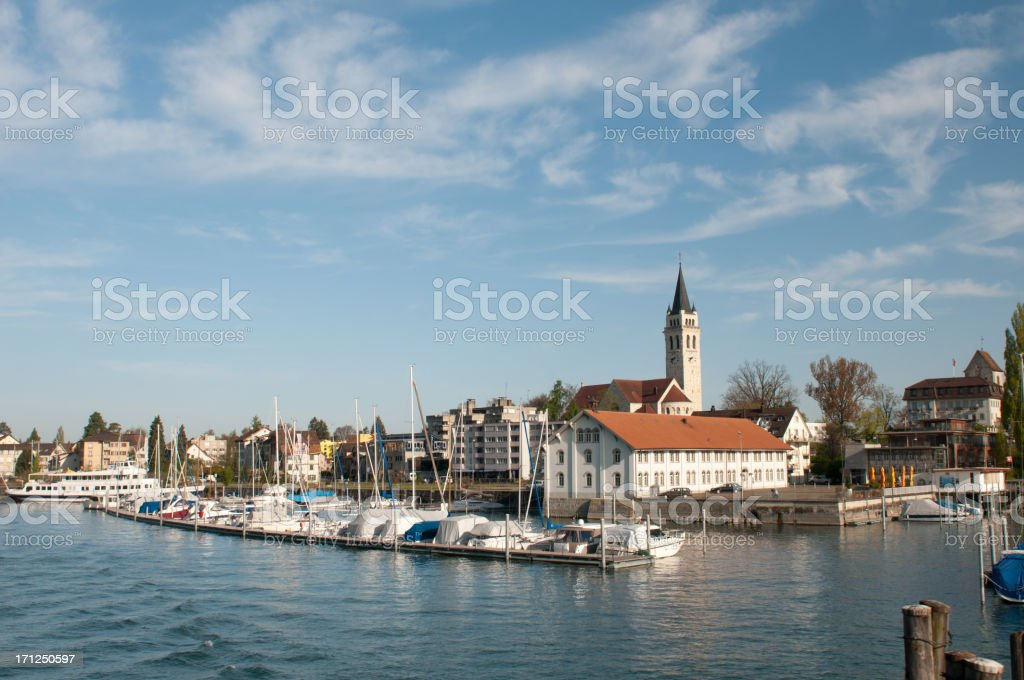 Romanshorn stock photo
