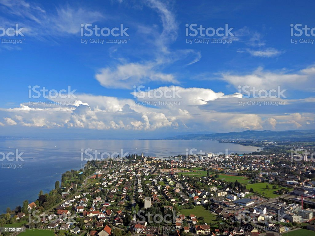 Romanshorn Schweiz stock photo