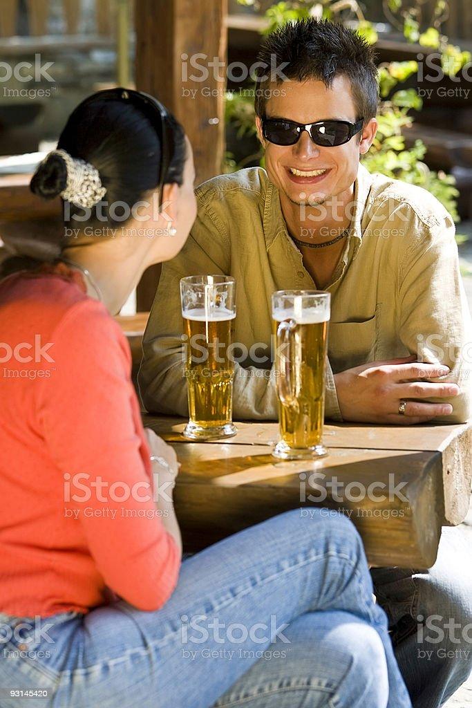 Romantic Beers royalty-free stock photo