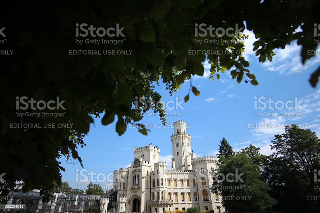 Romantic Castle stock photo