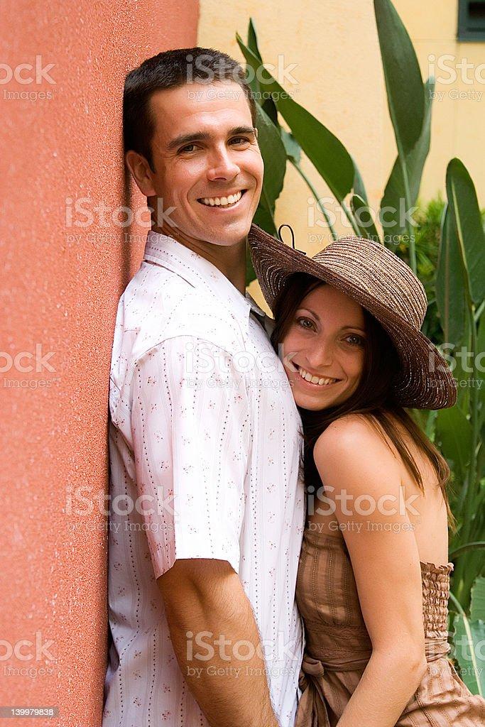 Romantic couple II royalty-free stock photo