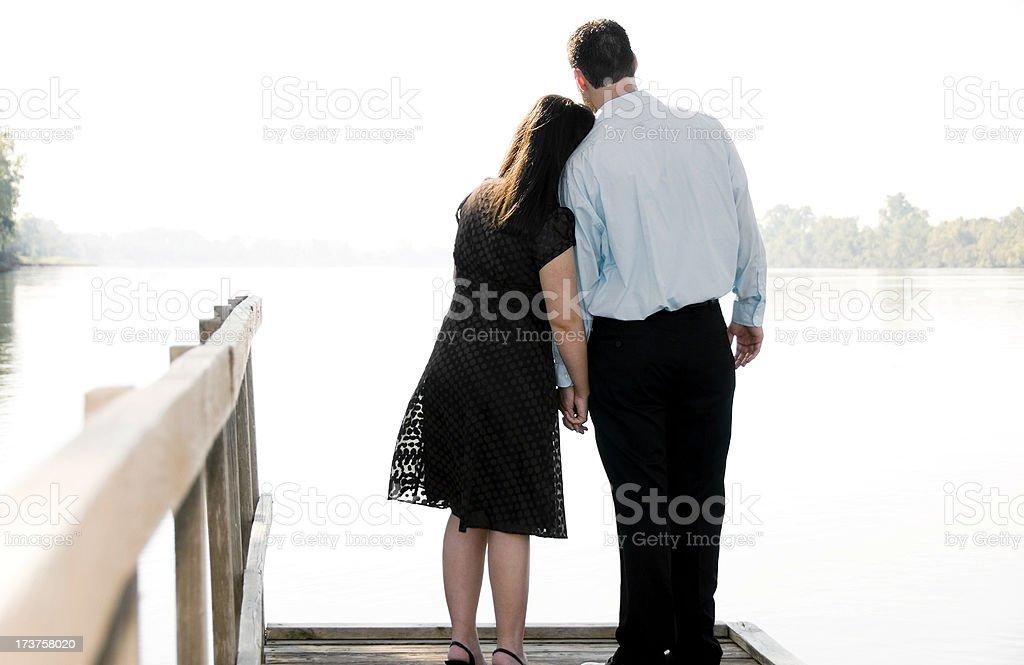 Romantic Couple royalty-free stock photo