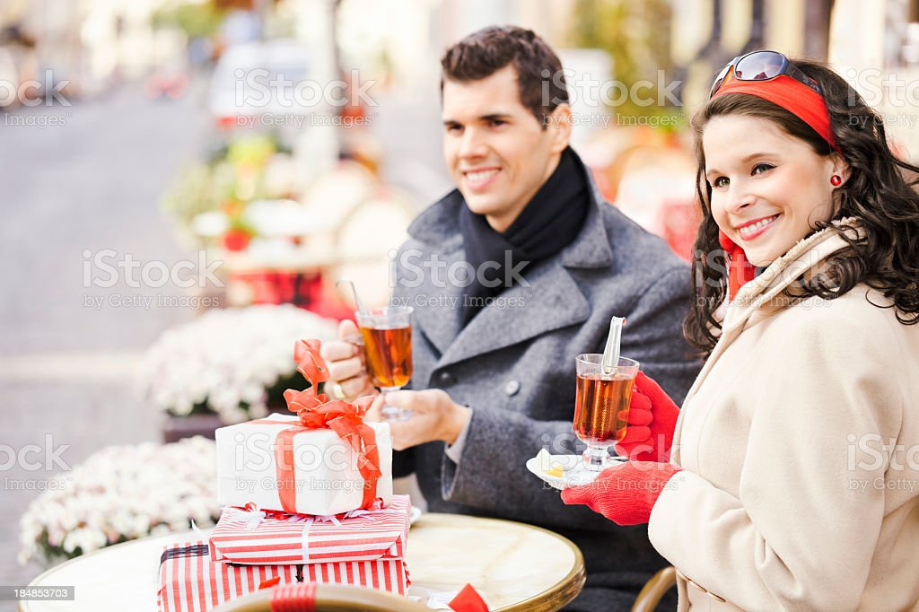 Romantic couple... royalty-free stock photo
