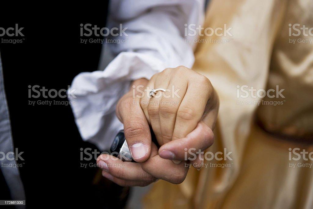 Romantic couple XXL royalty-free stock photo