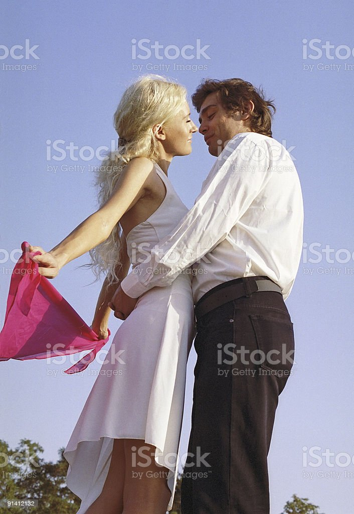 romantic dance royalty-free stock photo