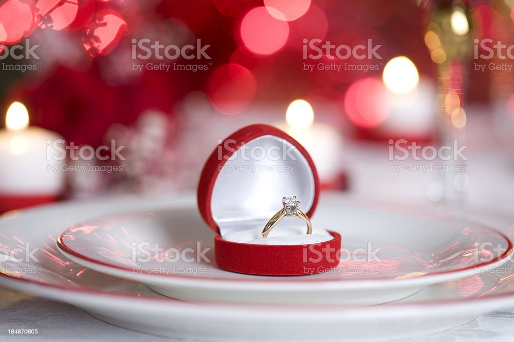 Romantic Dining royalty-free stock photo