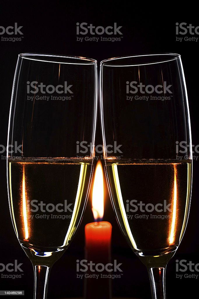 Romantic evening royalty-free stock photo