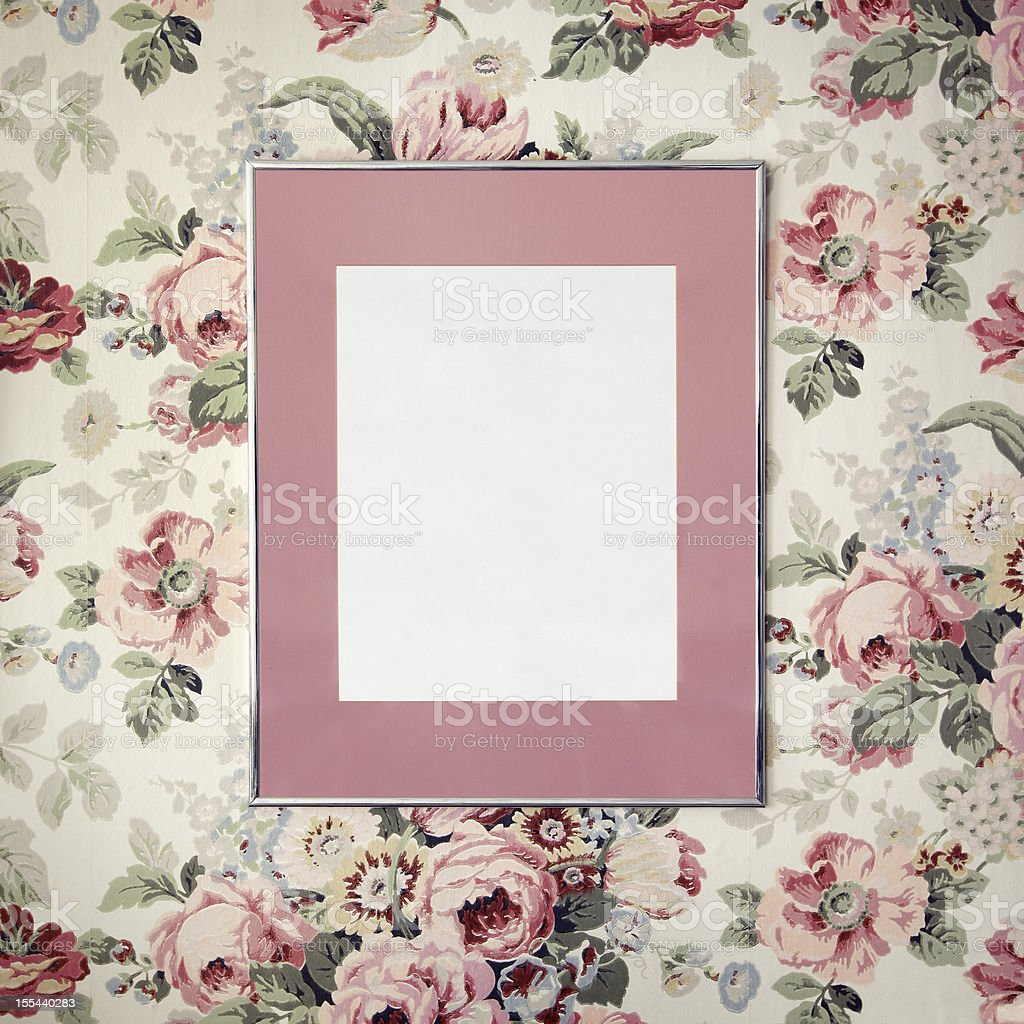 Romantic frame royalty-free stock photo