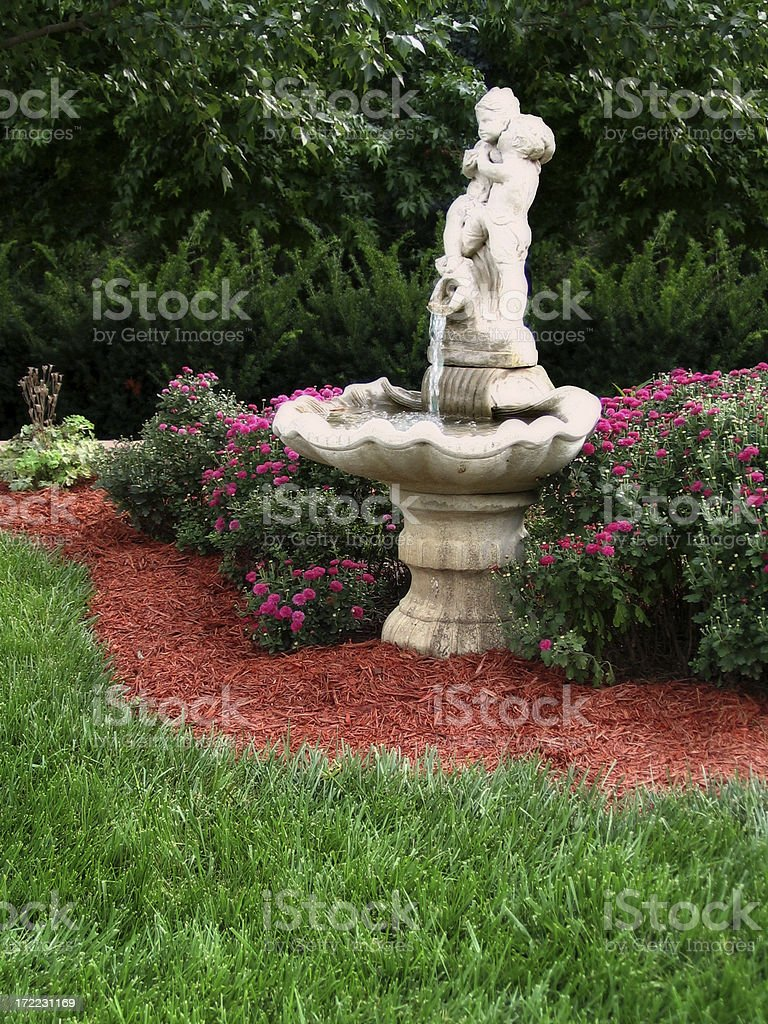 Romantic Garden royalty-free stock photo