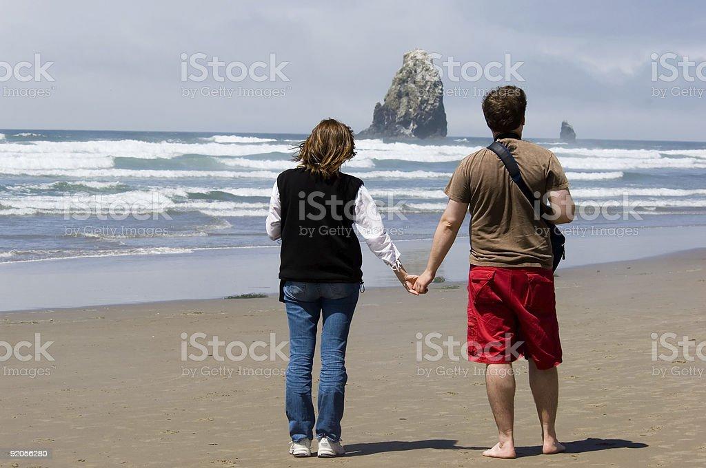 Romantic getaway royalty-free stock photo