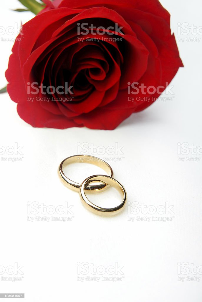 Romantic gift royalty-free stock photo