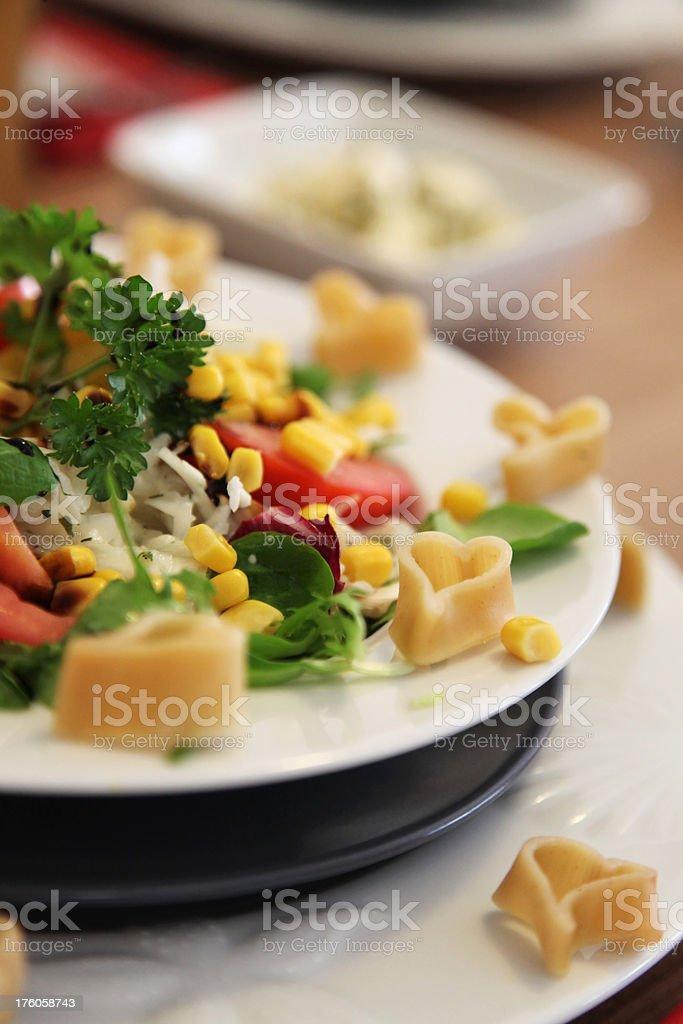 Romantic Healthy Salad stock photo