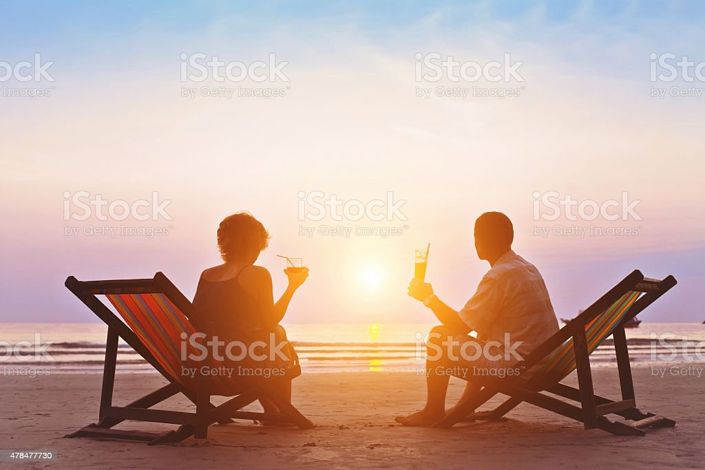 romantic holidays stock photo