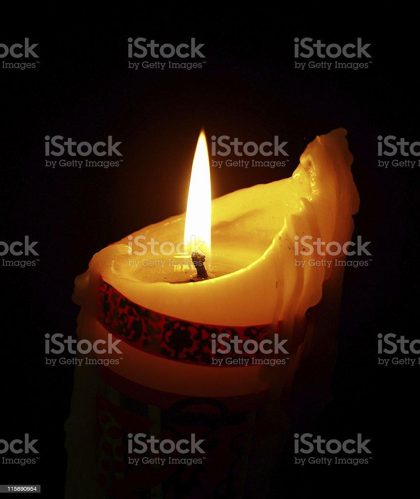 romantic illumination stock photo