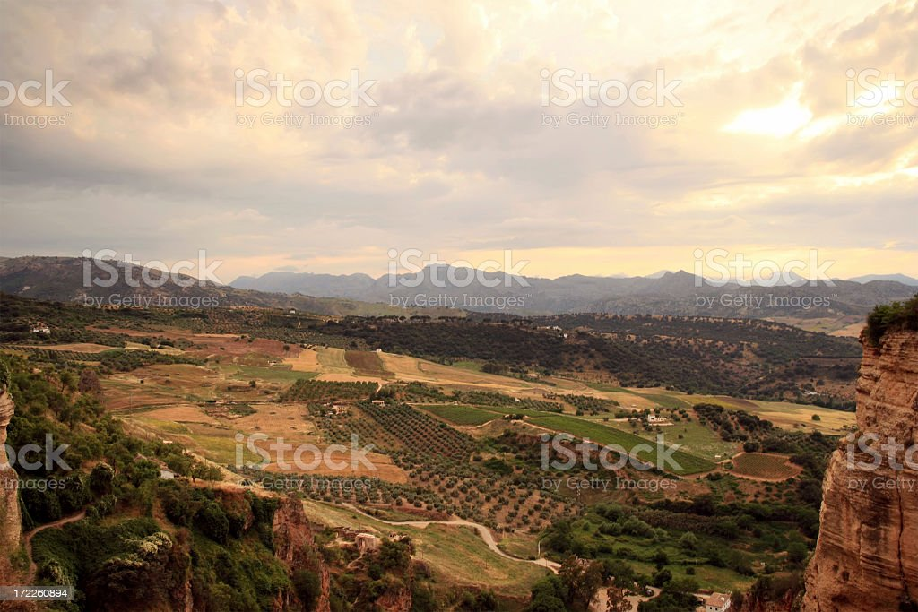 Romantic Landscape royalty-free stock photo