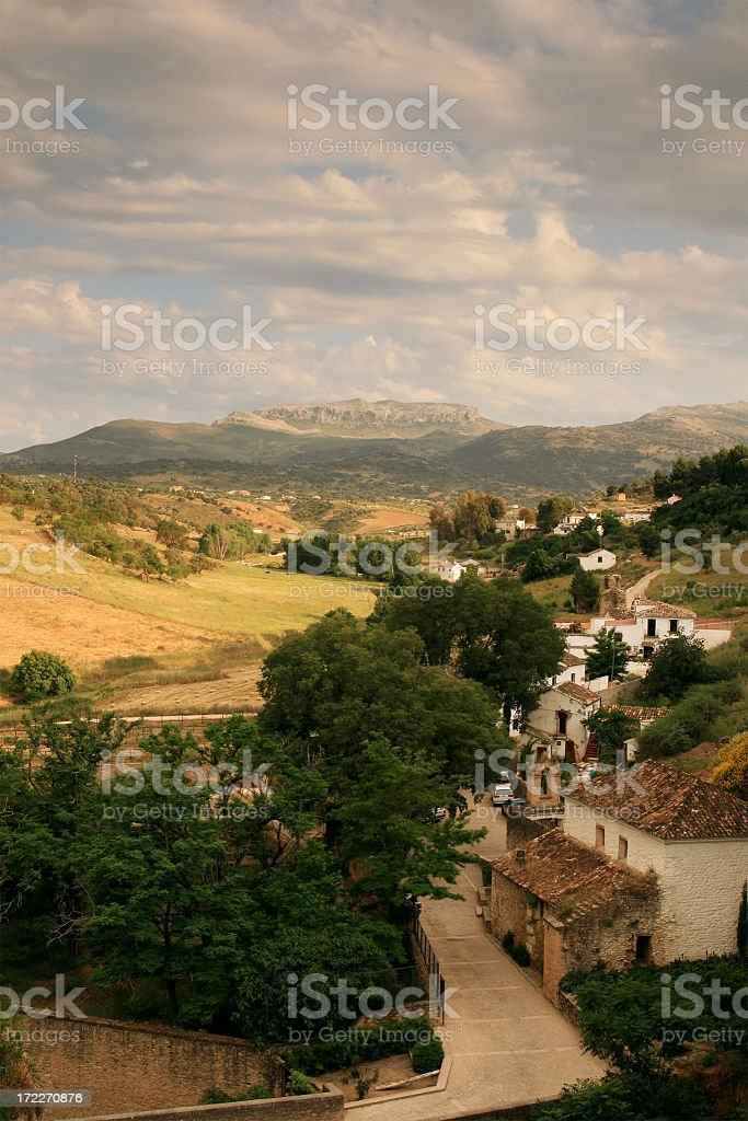 Romantic Landscape royalty-free stock photo