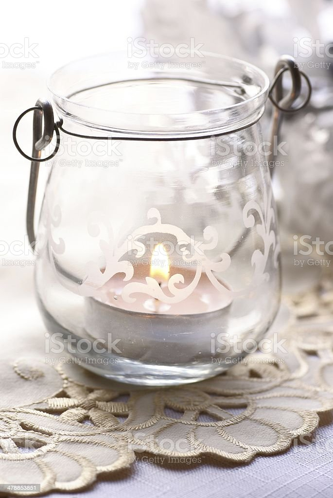 Romantic lantern royalty-free stock photo