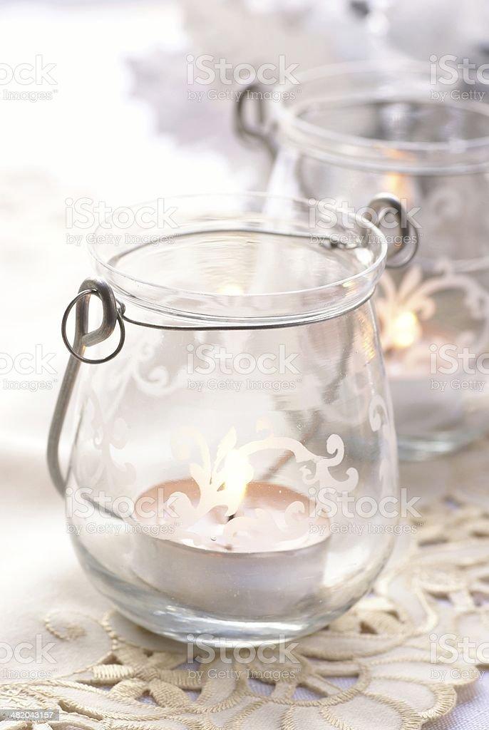 Romantic lanterns royalty-free stock photo
