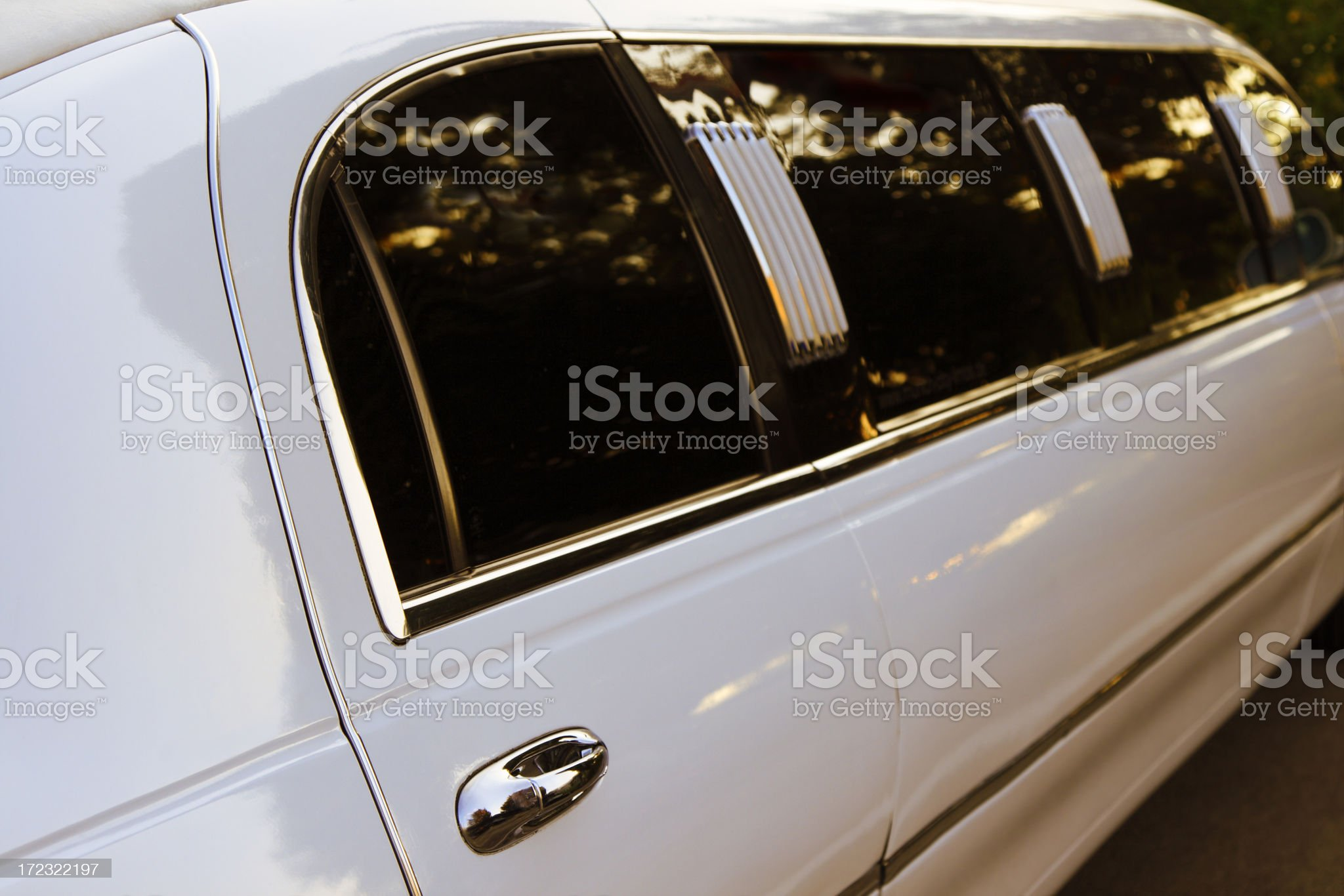 Romantic Limousine royalty-free stock photo
