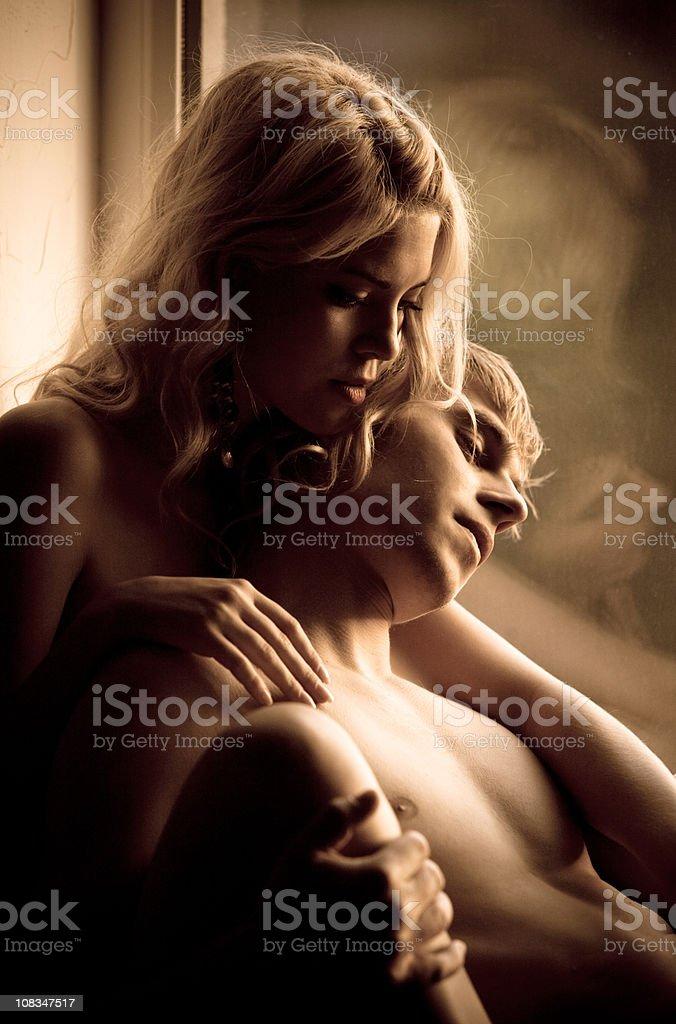 Romantic Lovers royalty-free stock photo