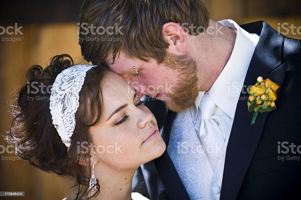Romantic Married Couple stock photo