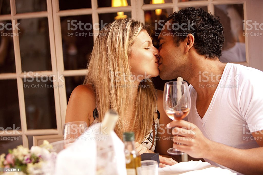 Romantic Meal royalty-free stock photo