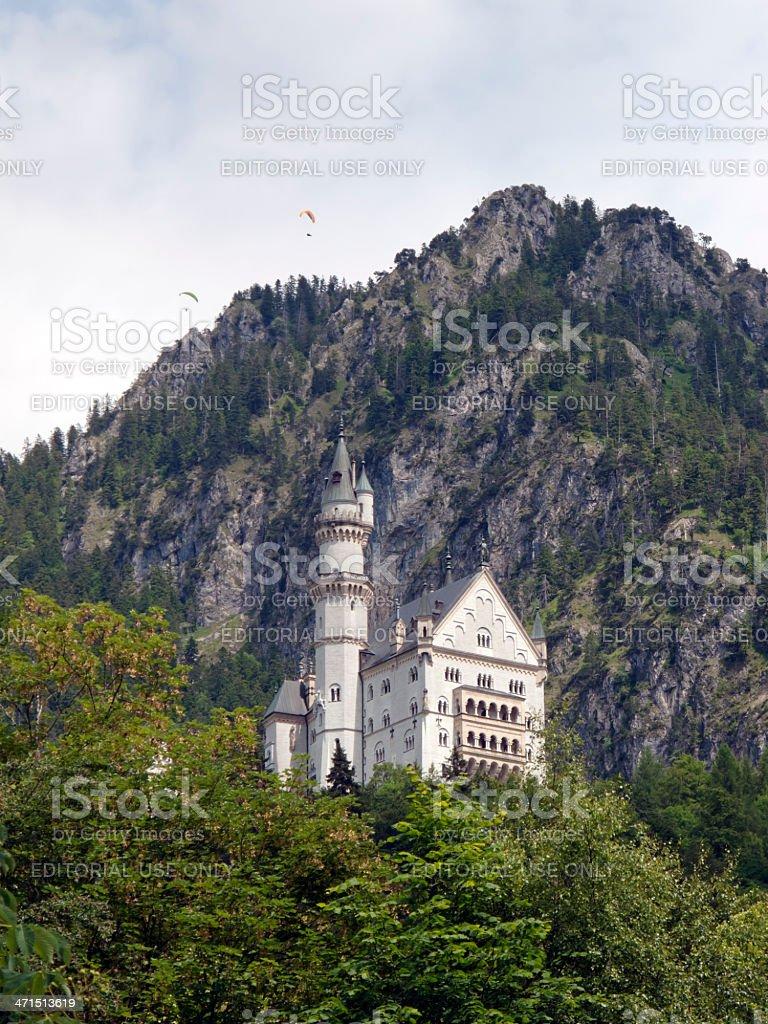 Romantic Neuschwanstein Castle, Germany royalty-free stock photo
