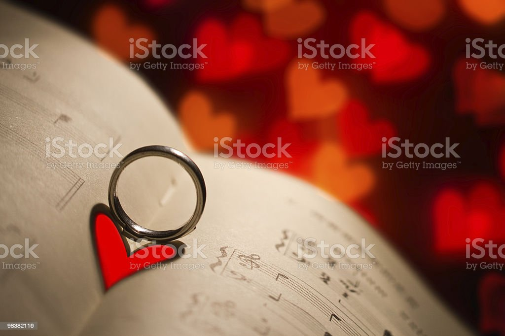 Romantic note royalty-free stock photo